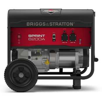 Бензиновый генератор Briggs&Stratton Sprint 6200A